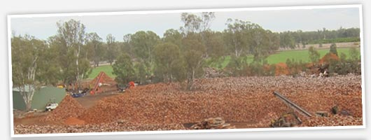 Redgum Firewood :: Seasoned, Split, Clean.